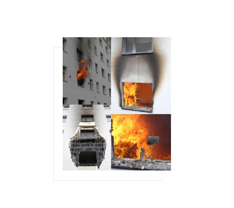 bezpieczenstwo pozarowe- elewacja -wytyczne sitp bariery ogniowe na elewacji w Niemczech